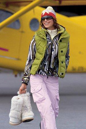 стильная горнолыжная одежда