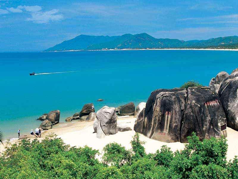 Пляжи Китая