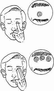 массаж глазных яблок