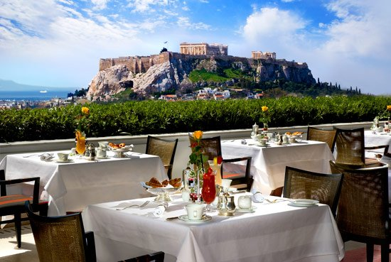 Таверны и рестораны столицы Греции