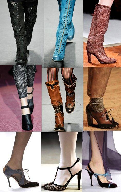 Мода 2012: обувь