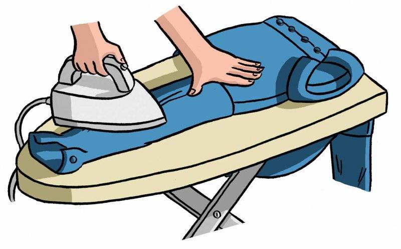 Как нужно гладить рукава рубашки
