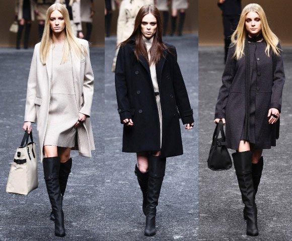 Мода 2012 осень: выбираем пальто