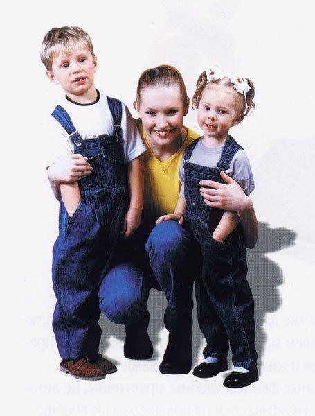 Джинсовая одежда для маленьких модников