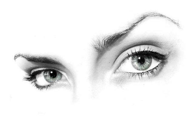Как визуально сделать более выразительный взгляд