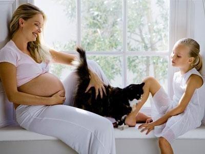 Контакт беременной с домашними животными
