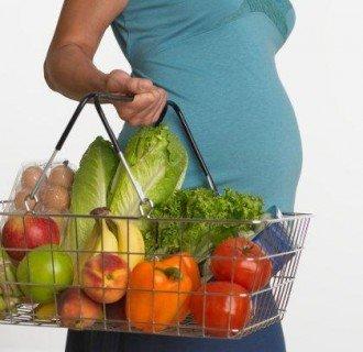 Правильный рацион будущей мамы