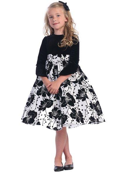 Модные нарядные платья для девочек