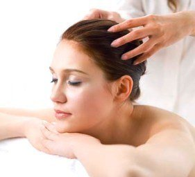 массажа головы