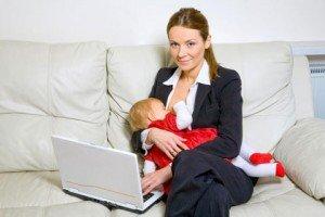 Гардероб для работающей мамы