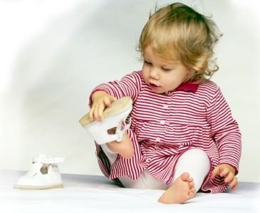 Детская обувь для разного возраста