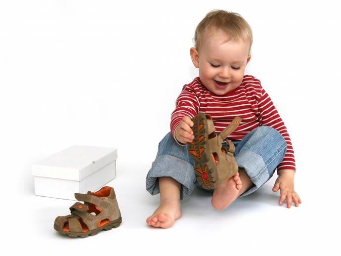 Советы при приобретении детской обуви